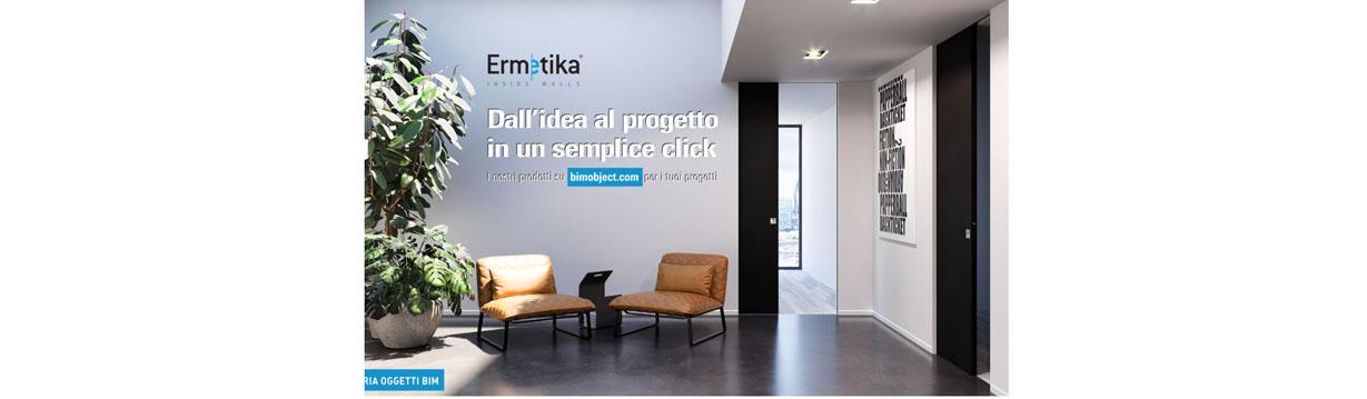 Ermetika entra nel BIMobject® Cloud