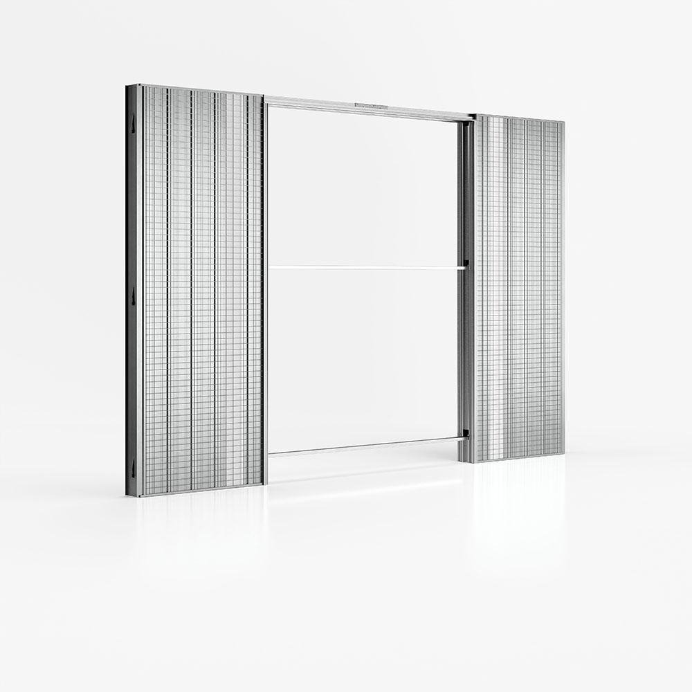Absolute Energy - controtelaio di Ermetika per porte filo muro e predisposizione punti luce