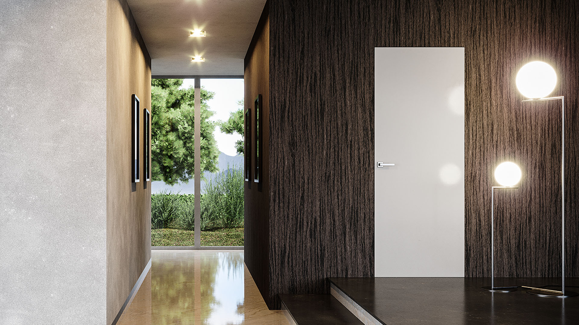 Porte Filo Muro Opinioni ermetika - frameless and sliding door systems