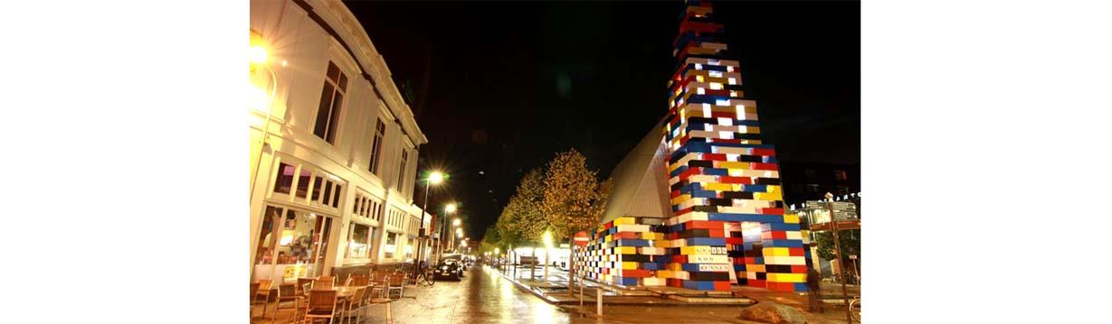 Costruire case vere con mattoni ispirati ai pezzi Lego