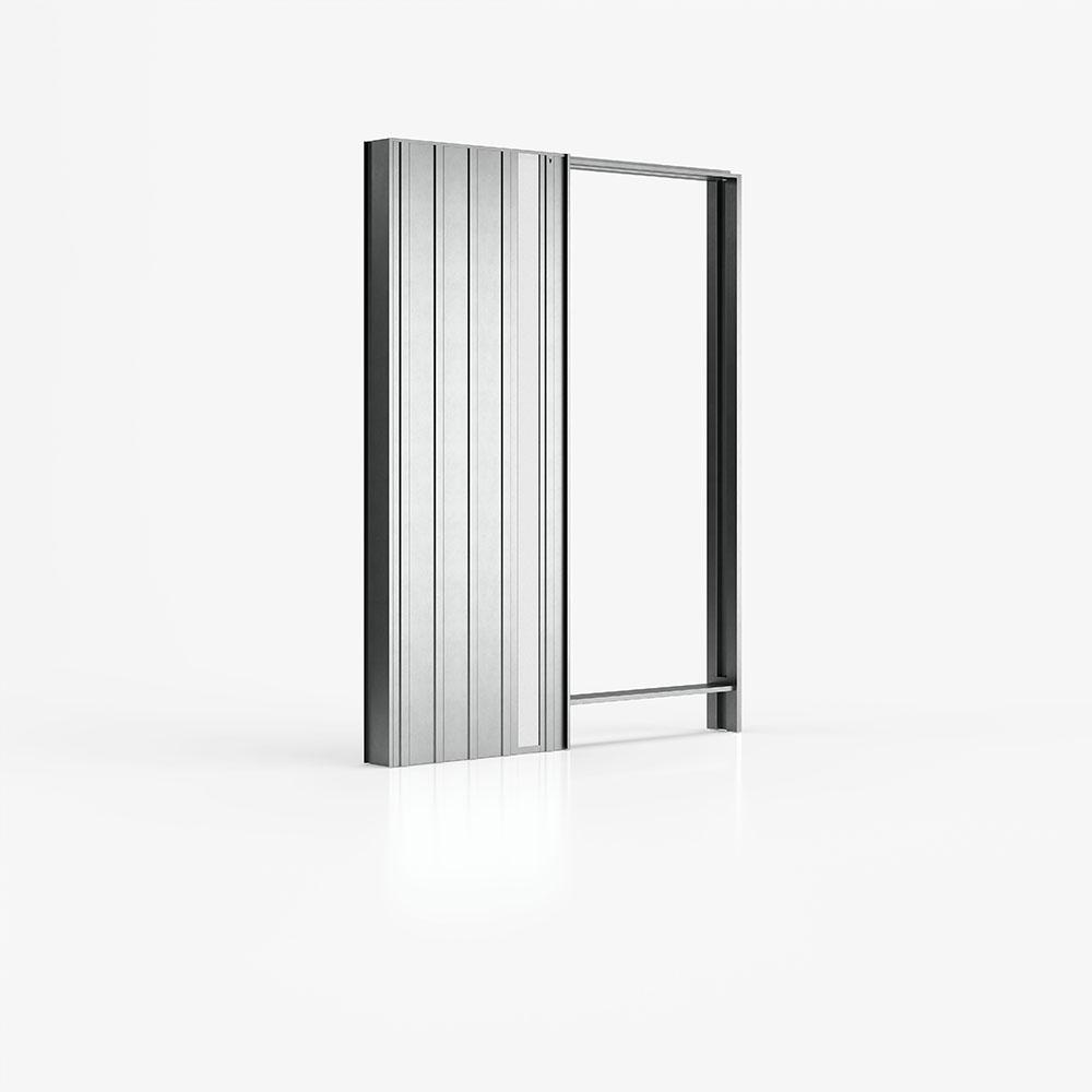 Luminox - controtelaio per porte scorrevoli con punti luce