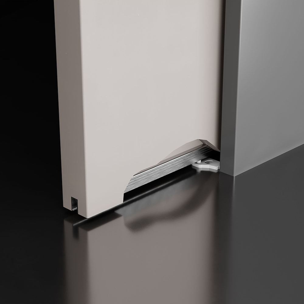 Aluminium under door profile 2