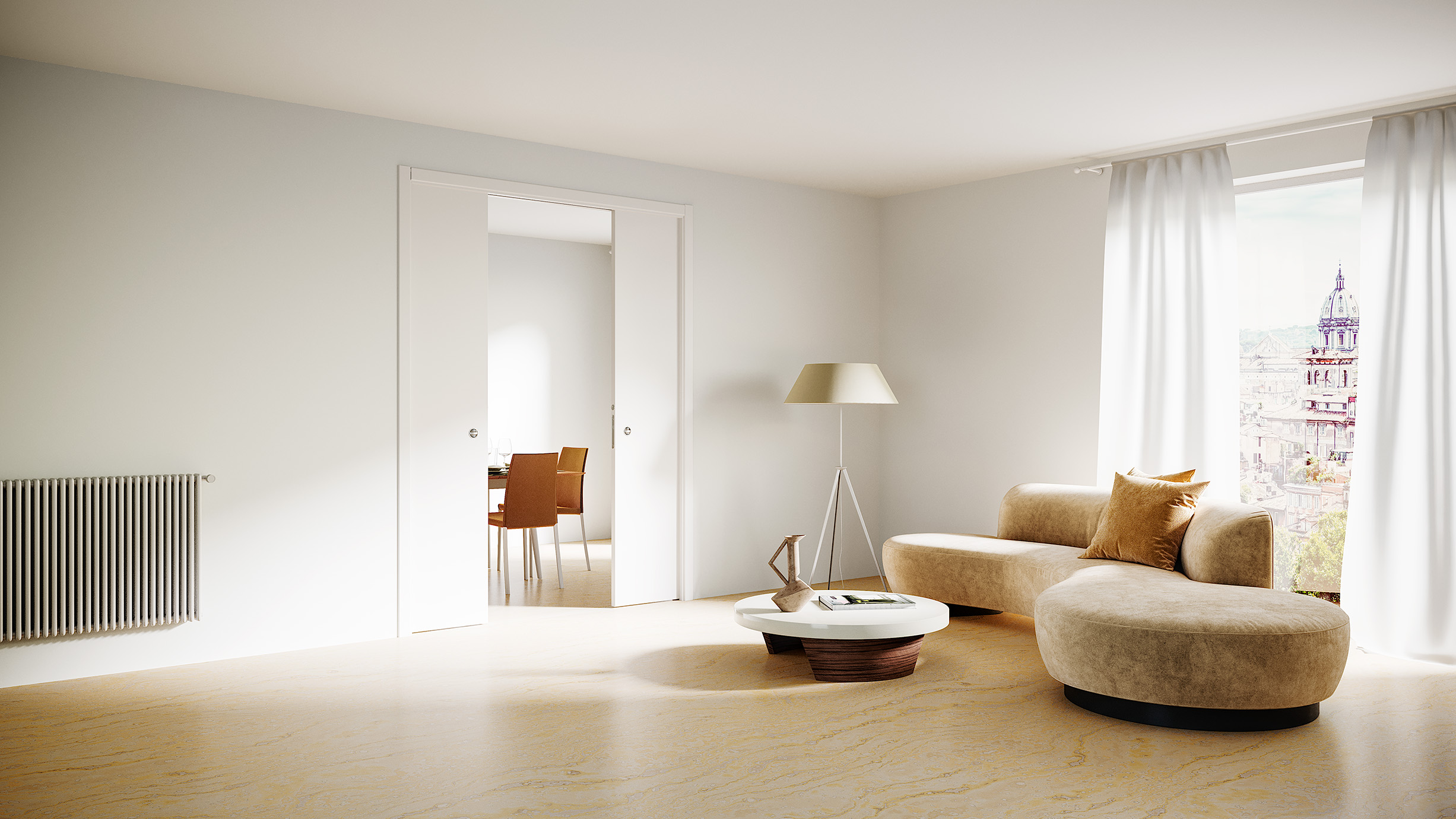 Prezzi Porte A Filo Muro ermetika - frameless and sliding door systems