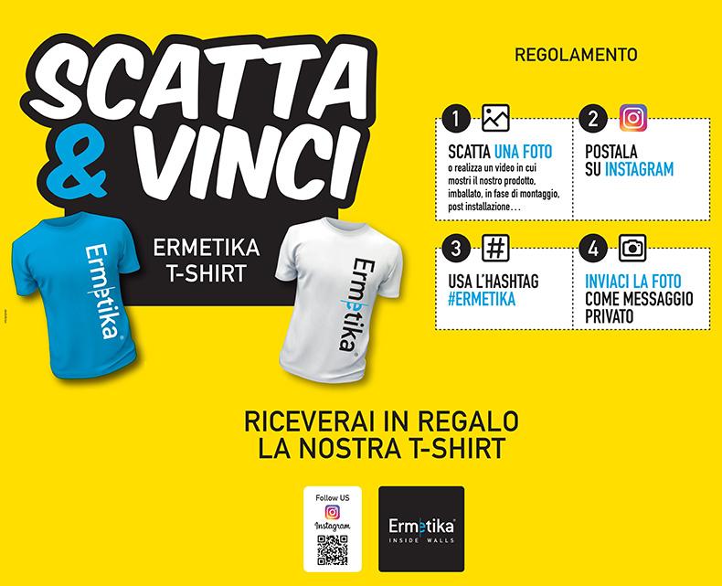 Ermetika| Scatta & Vinci!