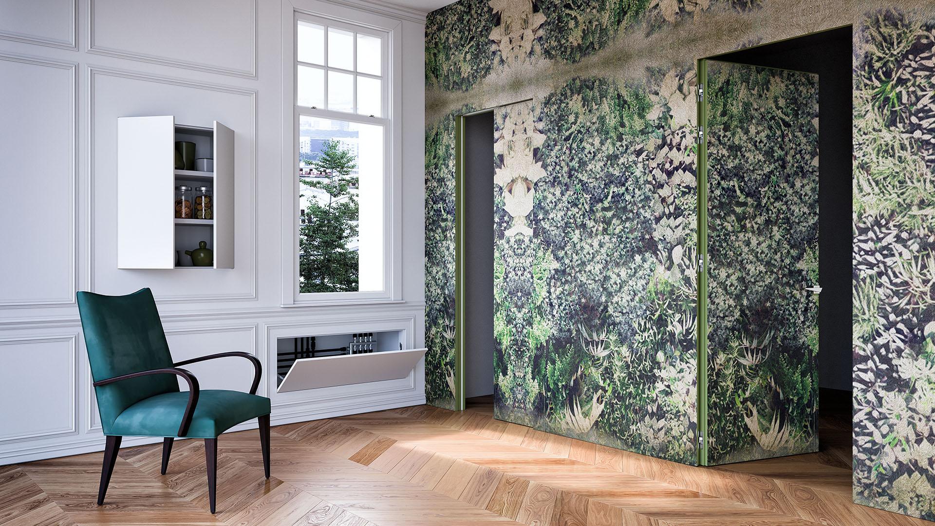 Come scegliere la finitura ideale per la tua porta filo muro